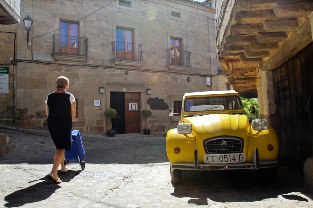 Los pueblos de la Sierra de Gata cuentan con un importante patrimonio arquitectónico.