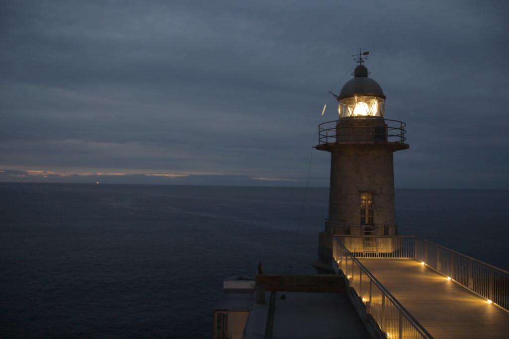El Faro de Lekeitio fue construido en 1862 como faro de recalada.