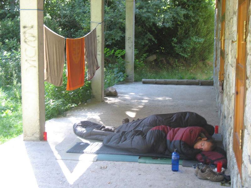 Zona acampada benasque