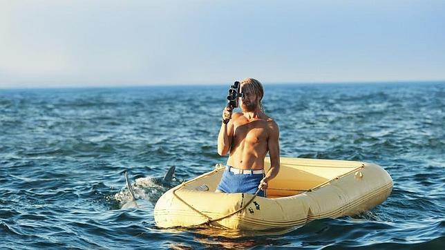 Pål Sverre Hagen, interpretando a Heyerdahl en la película.