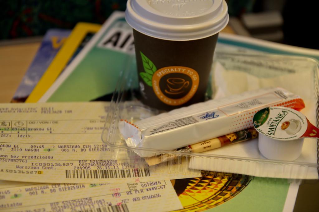 Los billetes de tren del PKP Intercity EIC, junto con el dulce estilo