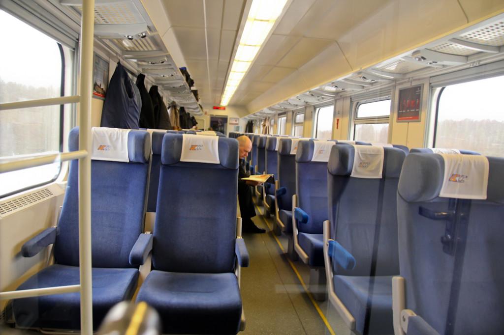 Pese a pertenecer a la misma clase, los vagones se diferencian en su aspecto interior y exterior. Las tapicerías varían de uno a otro.