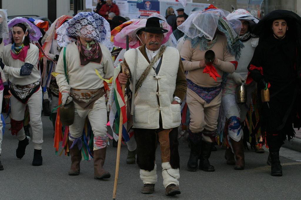 Carnaval de Tricarico, otro ejemplo del carnaval rural en Italia. cc-by-sa-nc Basilicata Turística
