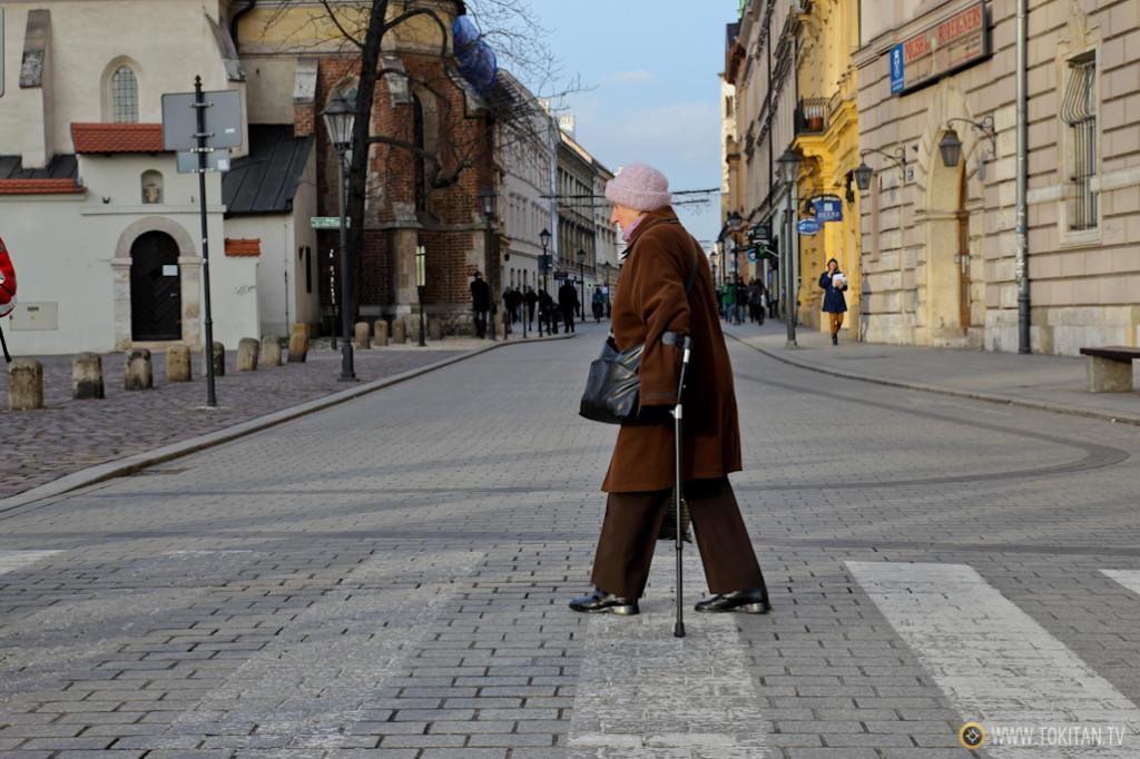 Kazimierz, el barrio judío de Cracovia.