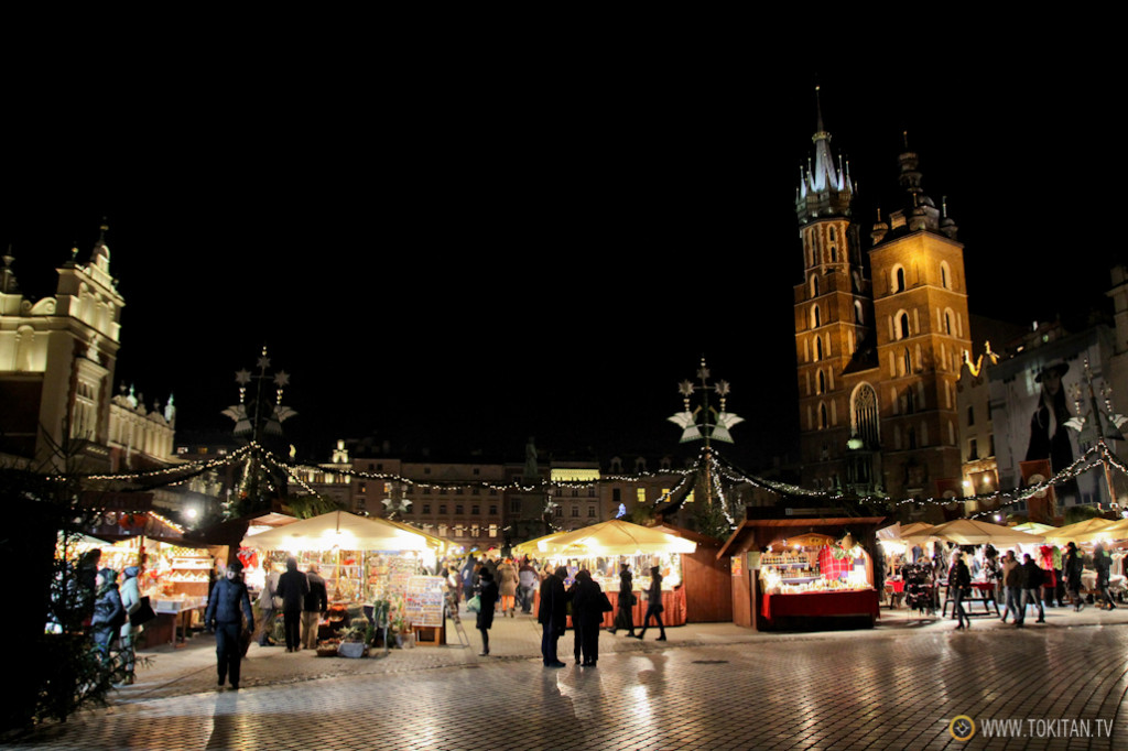 Plaza Mayor del Mercado o Rynek Glowny