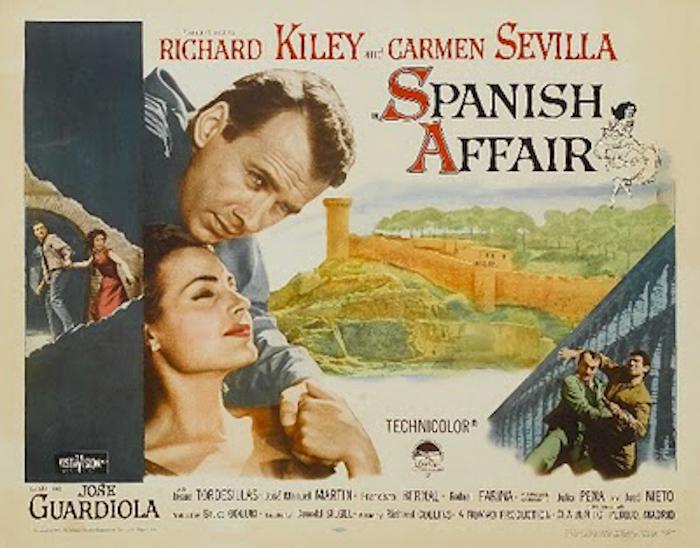 Cartel de Spanish Affair