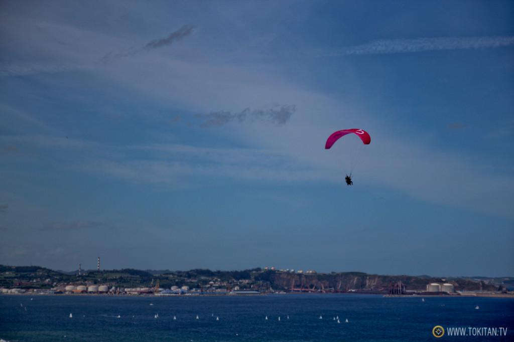 Volando sobre Gijón