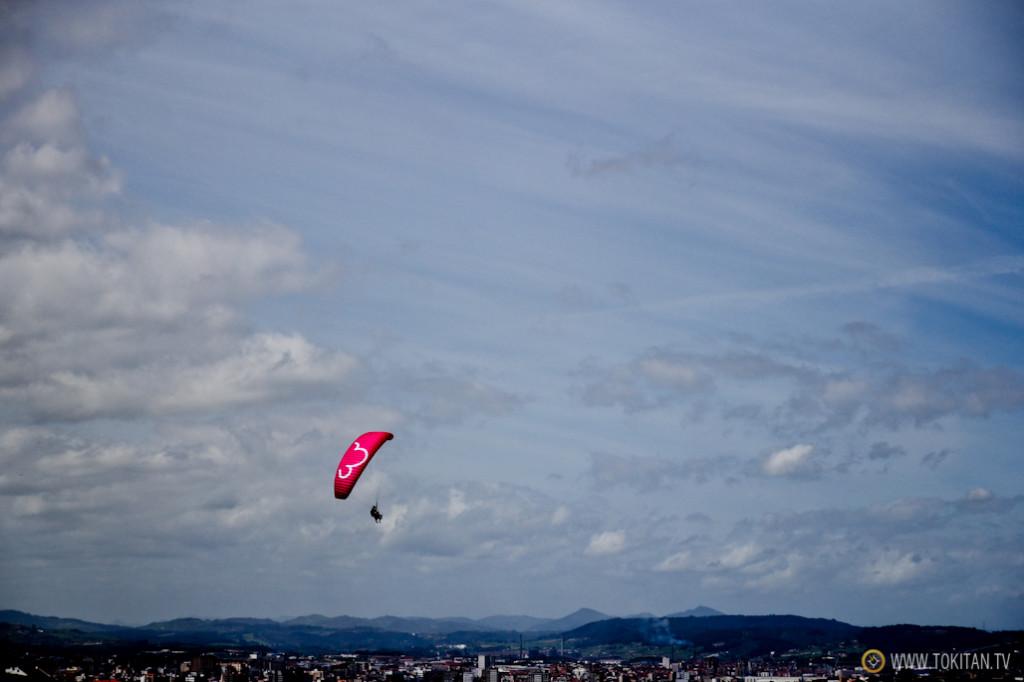 Sobrevolando Gijón