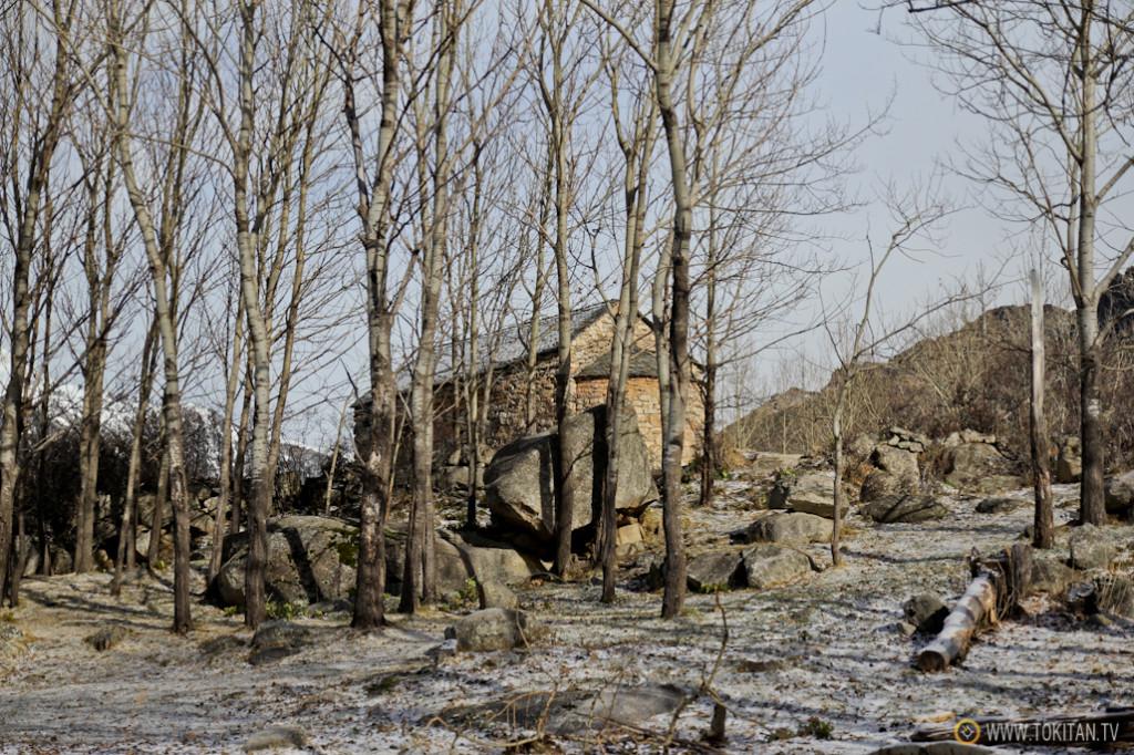 Ermita de San Quirce de Taüll, donde comienza nuestra caminata, al lado de Pla de l'Ermita.