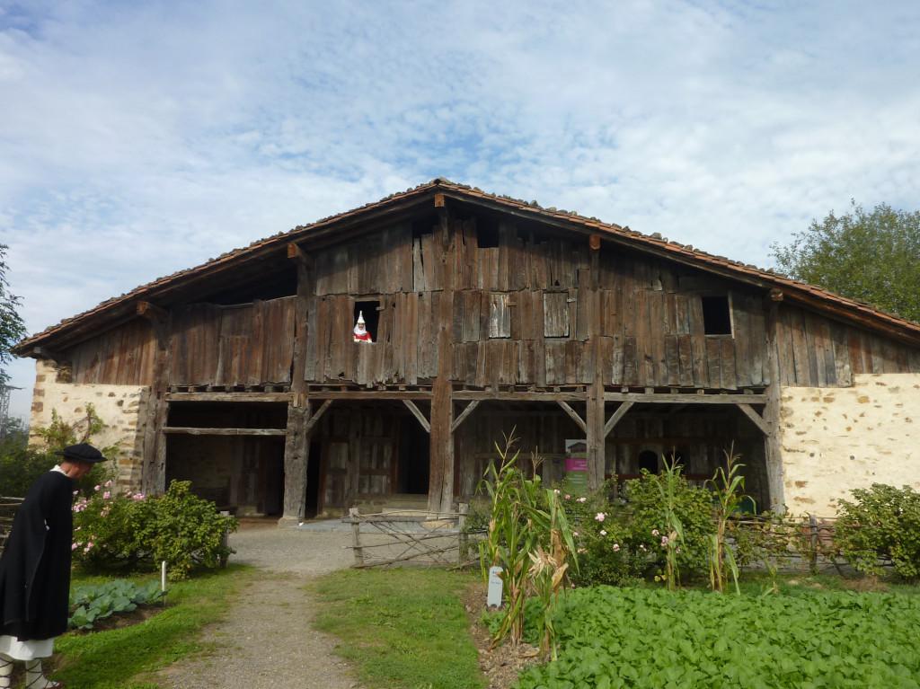 Caserío museo Igartubeiti, en Ezkio-Itxaso