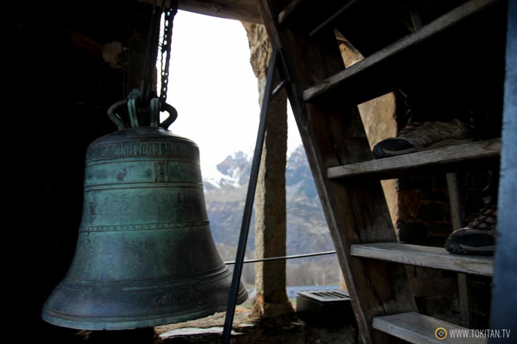 La visita a la Iglesia de San Clemente se completa con la subida al campanario.