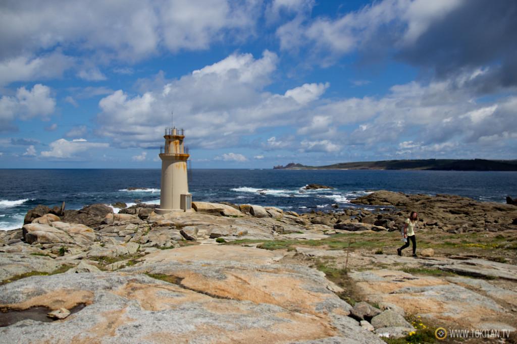Faro de Virxe da Barca.