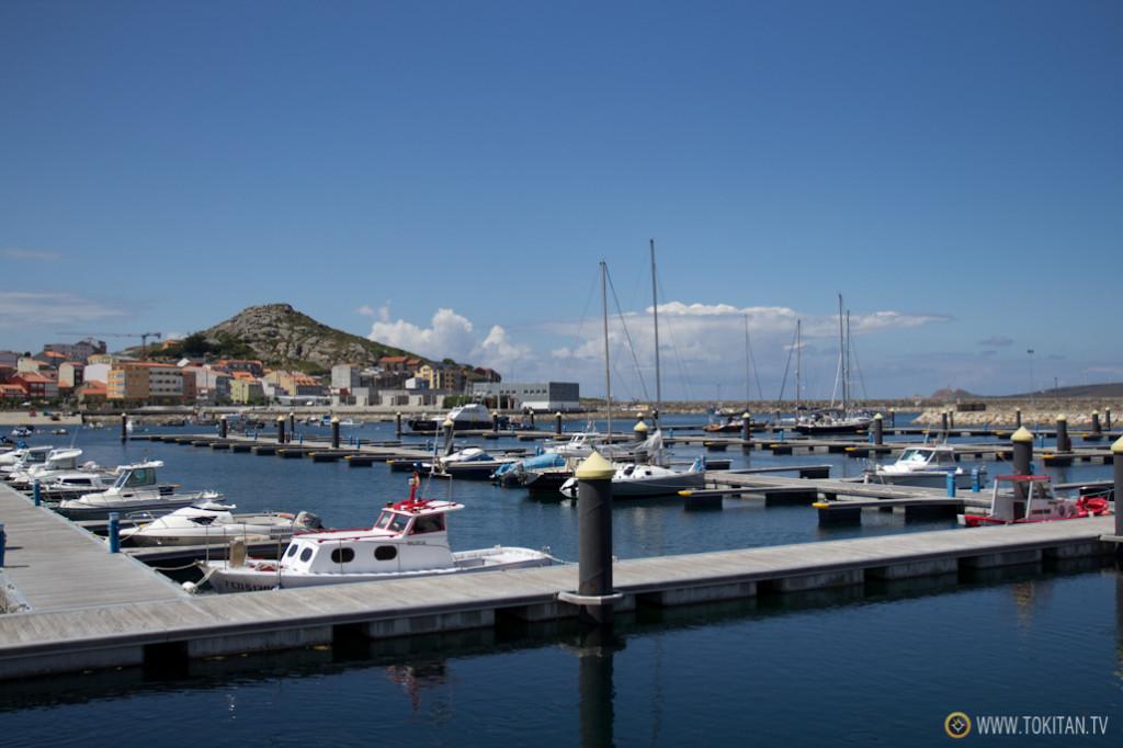 Puerto deportivo de Muxía.