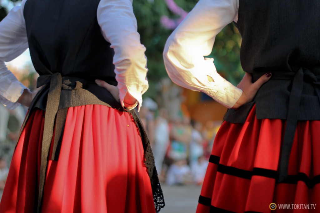 Las tradicionales danzas de Valdeavellano de Tera se han recuperado recientemente.