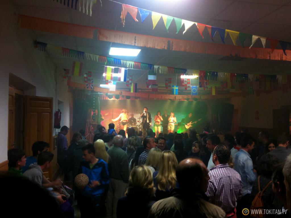 Las verbenas están muy concurridas en Verano, tanto en Valdeavellano como en Sotillo (en la imagen).