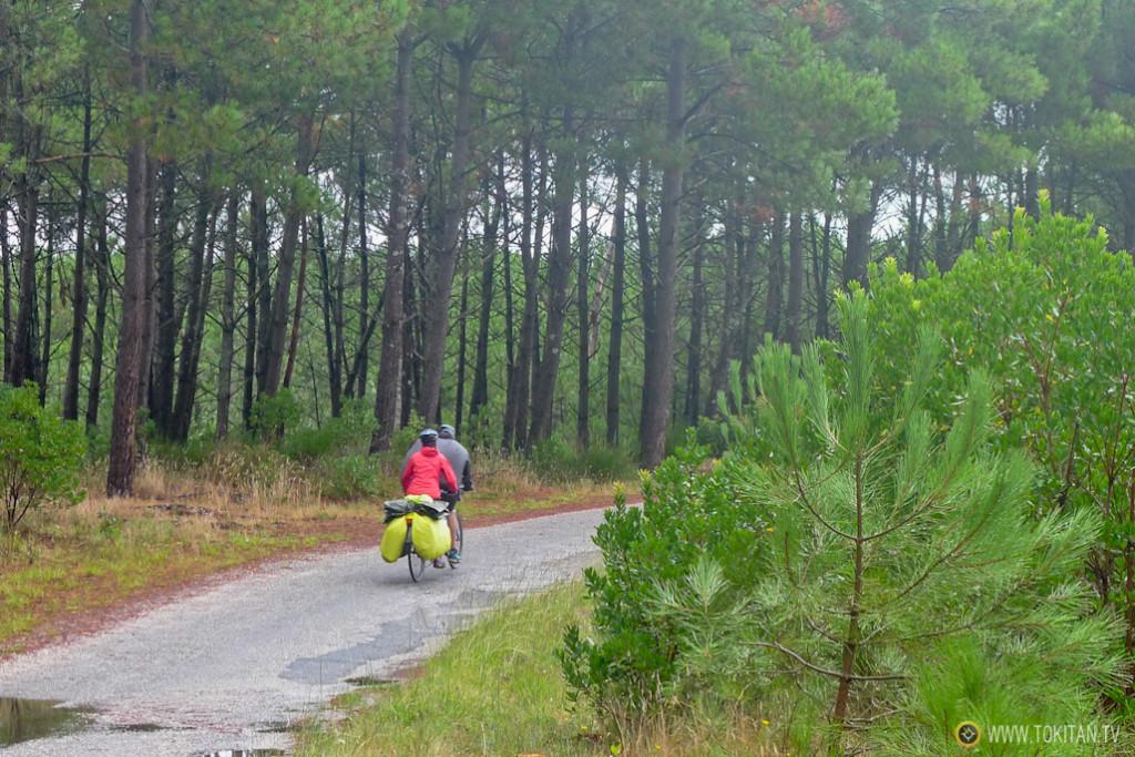 Viajar en pareja con bicicleta tándem