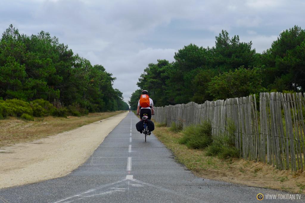 Viajar en bicicleta en solitario