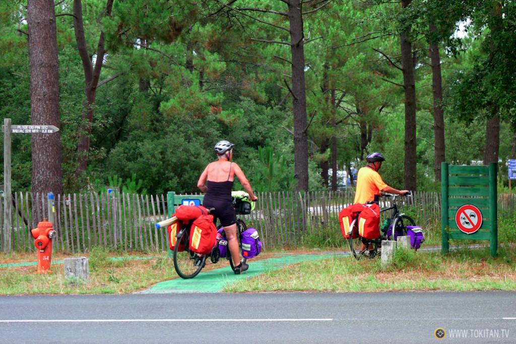 Viajar en bici en la jubilación