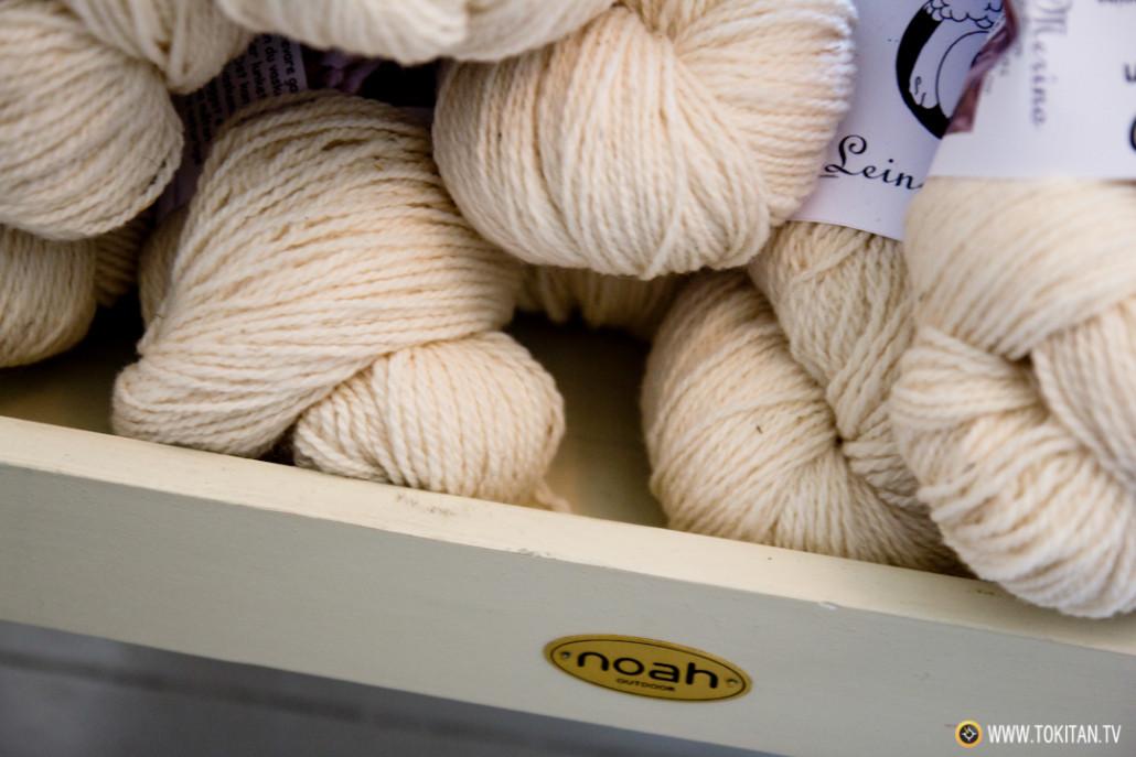 Lana de oveja, un producto noruego irresistible para el los knitters.