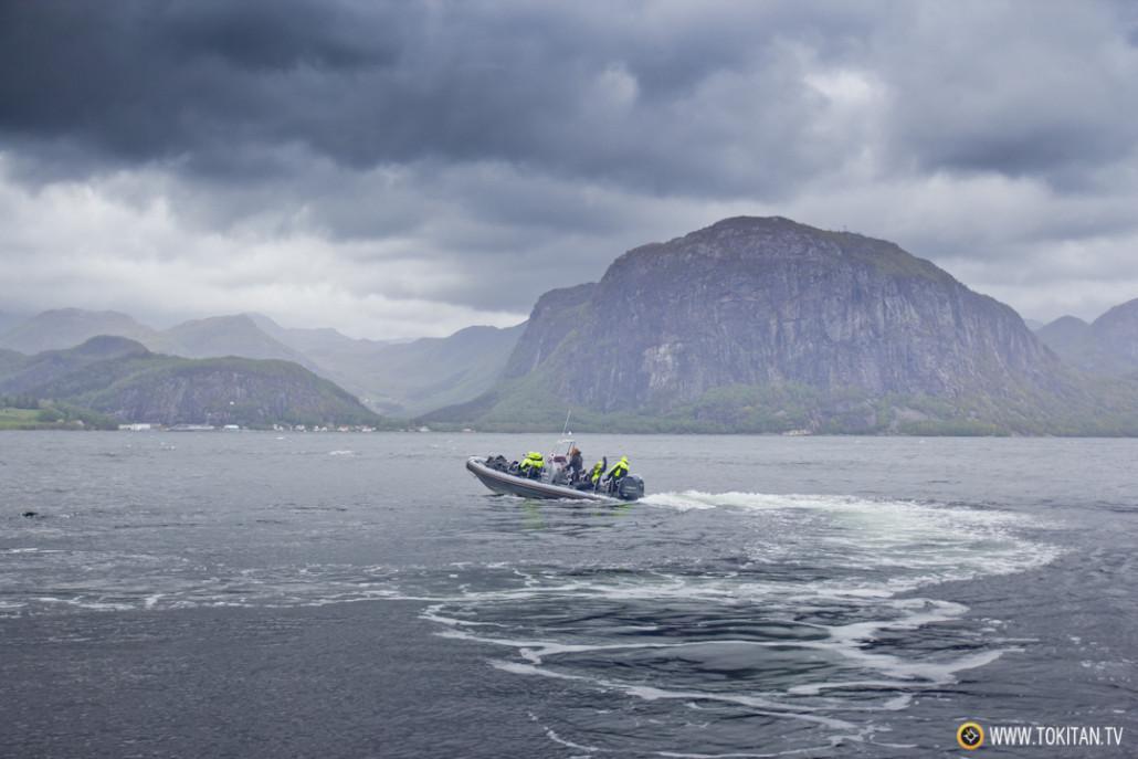El barco, un transporte imprescindible para moverse por los fiordos noruegos.