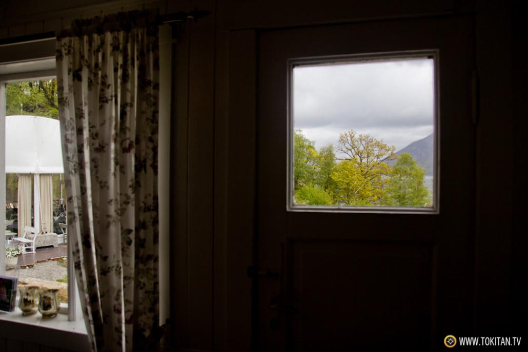 La ventana, el marco de un cuadro abierto al exterior.