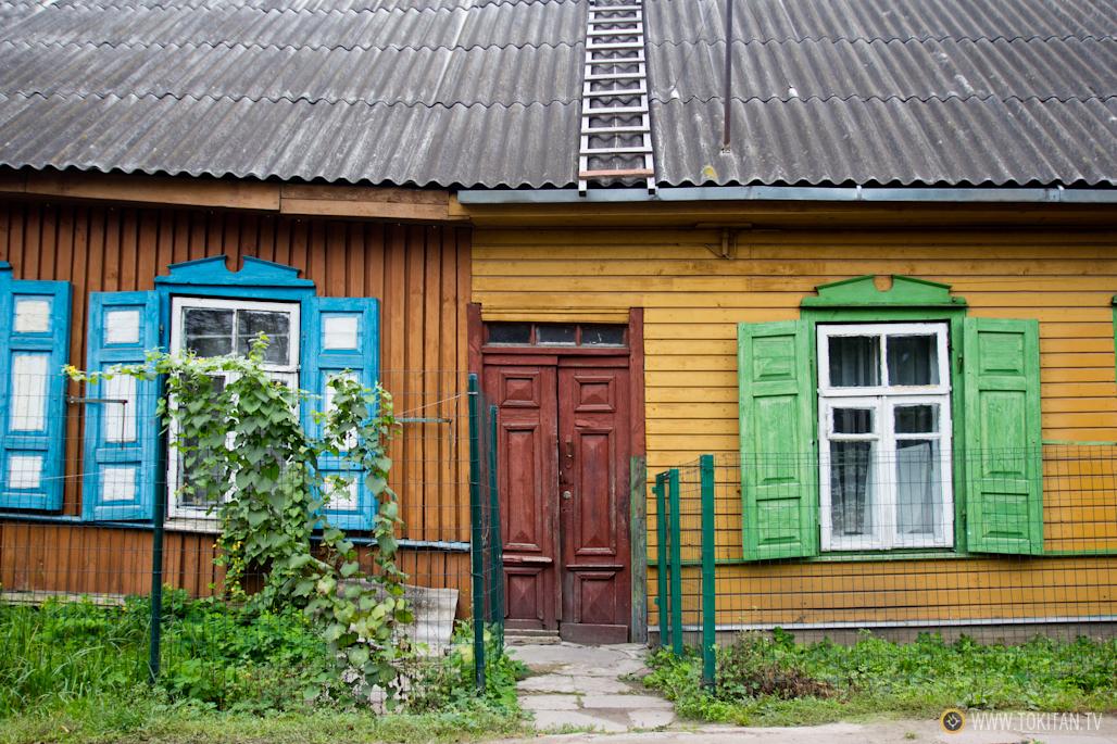 Qu ver y hacer en vilna vilnius casas de madera del barrio snipiskes - Casaa de madera ...