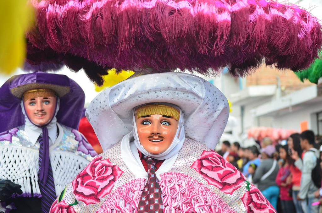Máscaras del carnaval de Tlaxcala en México. Xavo Rob https://www.flickr.com/photos/xavo_rob/13097454464/in/dateposted/