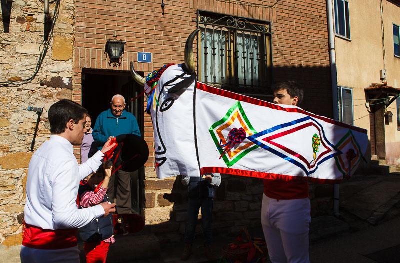 La Barrosa de Abejar, uno de los carnavales rurales de Soria más vistosos. Foto: Desde Soria http://www.desdesoria.es/?p=125979