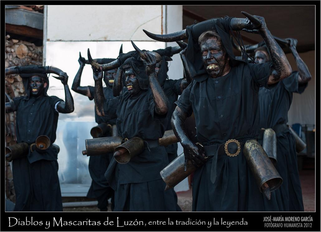 Los diablos de Luzón, el carnaval rural más conocido de Guadalajara. https://www.flickr.com/photos/josemariamorenogarcia/