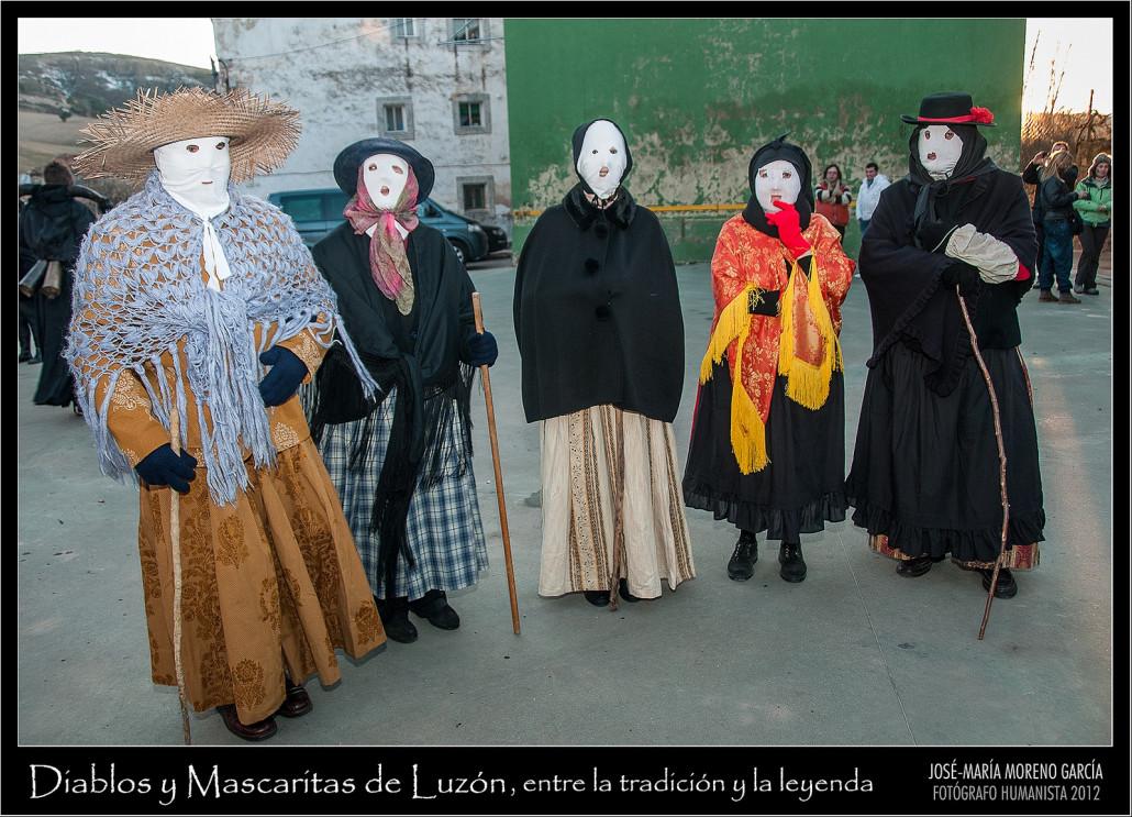 Mascaritas de Luzón, personajes de uno de los carnavales rurales de Guadalajara. https://www.flickr.com/photos/josemariamorenogarcia/