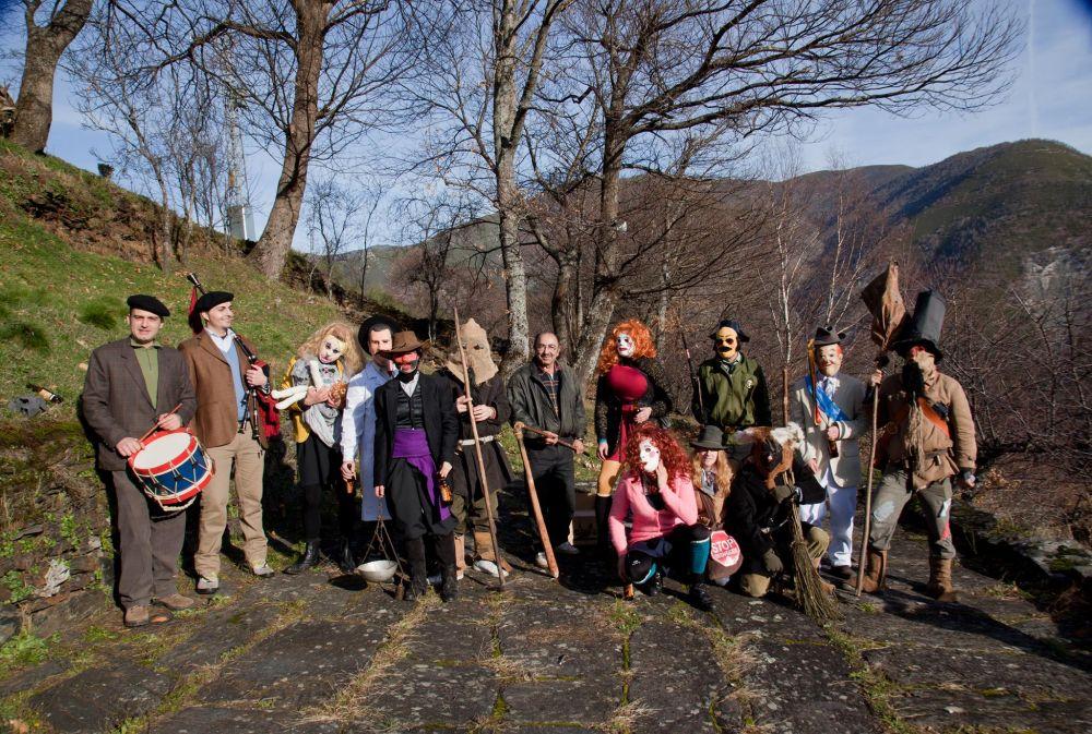 Los reises de Tormaleo, otro de lso carnavales tradicionales de Asturias. Quefemos http://www.quefemos.com/