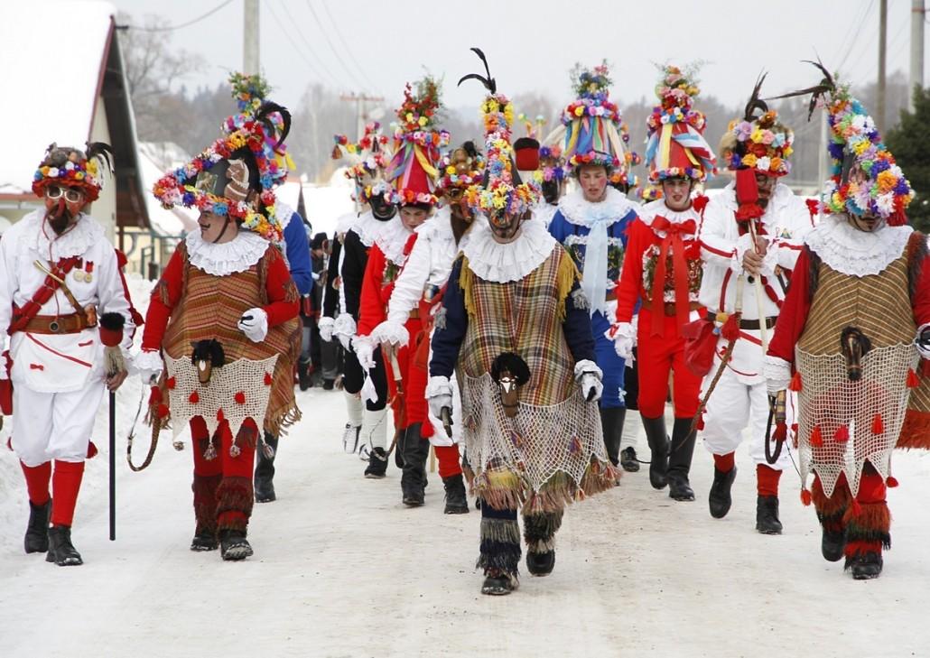 Celebración de Masopust en Vortova http://www.hlinsko.cz/