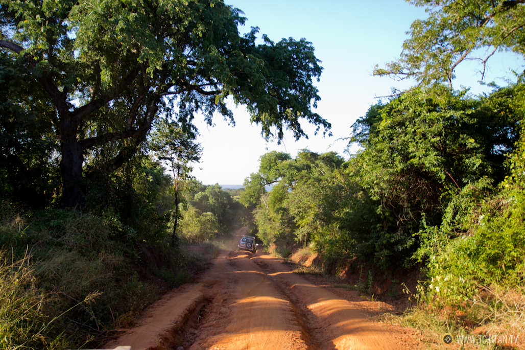Por la carretera RN8 camino de Bekopaka.