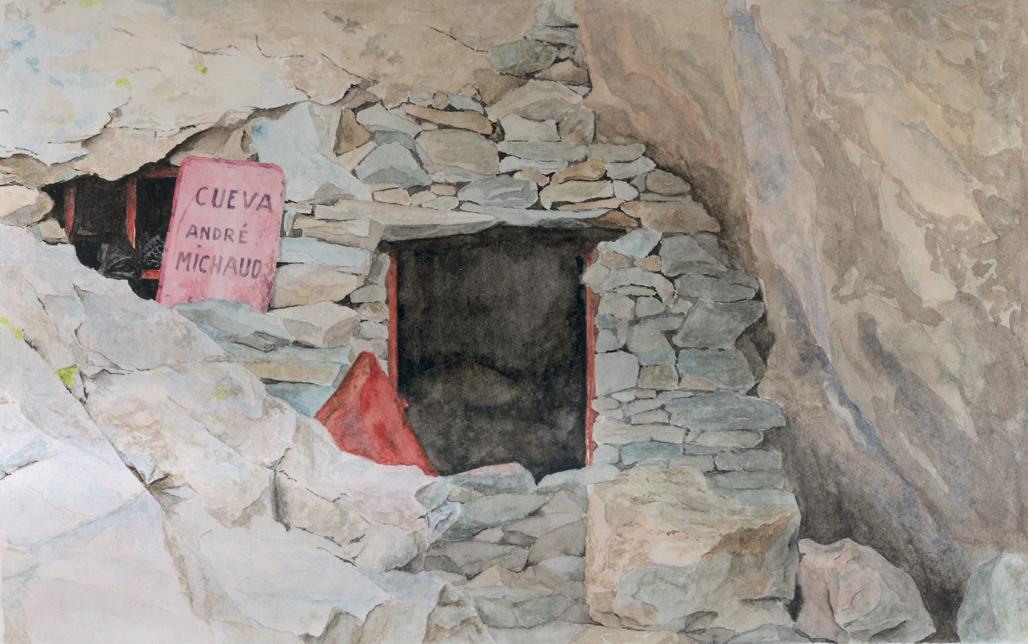 Acuarela del Abri Michaud, por Elorza.