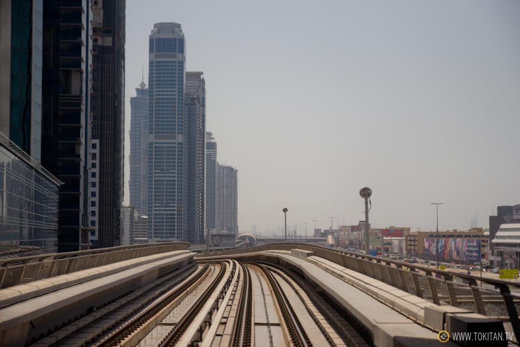 El de Dubai es uno de los metros automatizados más extensos del mundo.