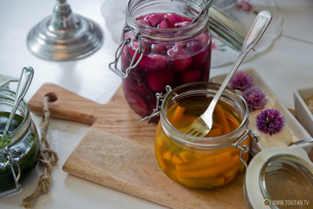 Los encurtidos tienen un lugar importante en los hábitos alimentarios de los noruegos.