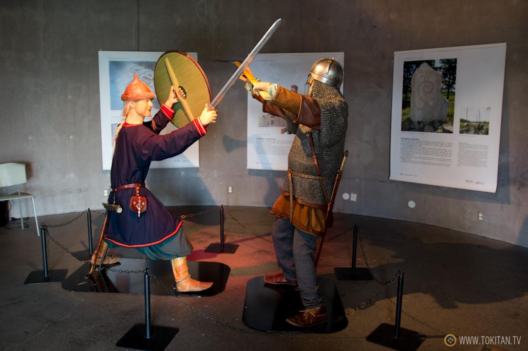 El centro de interpretación de la Era Vikinga de Midgard, parte de la Ruta Vikinga de Noruega.